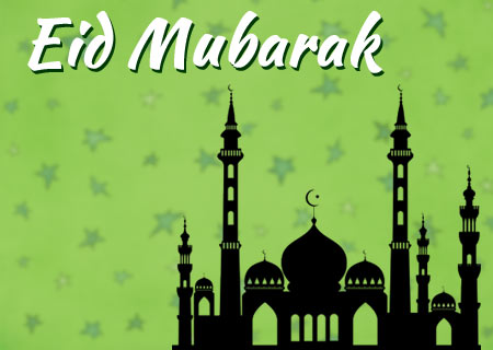 Have a blessed Eid